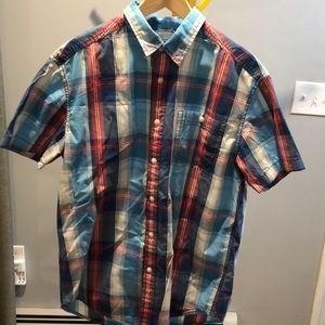 Other - Plaid short sleeve shirt